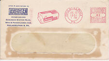 POSTAL HISTORY ADVERTISING METERED COM COVER 1951 AMERICAN STORES CO PHIL, PA #1