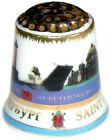 Dé à coudre Collection en porcelaine Dés a coudre russe