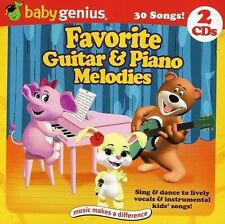 Favorite Piano & Guitar Melodies for Kids by Baby Genius