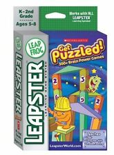 LeapFrog Leapster Learning Game Scholastic Get Puzzled by