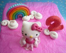 3D Novelty HANDMADE HELLO KITTY CAKE TOPPER/ birthday