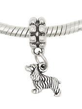 Sterling Silver Dangling Tiny American Cocker Spaniel Dog Bead
