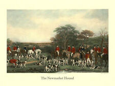 Horse Newmarket Hunt Club Fox Hunting 12 x16  Vintage Repro Poster FREE SHIPPING