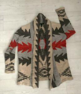 Women's Ralph LAUREN Aztec / Navajo Cardigan - Size Small
