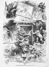 SUPPRESSION DE LA CONTRAINTE PAR CORPS / EDMOND MORIN / GRAVURE ENGRAVING 1867