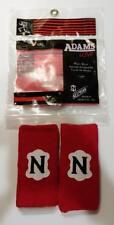 BRAND NEW Adams USA 6'' Cotton Wrist Band by Neumann Red Soccer Football Hockey