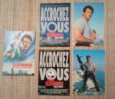 5 cartes postales cinéma film Stallone Cliffhanger