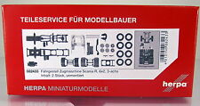 Herpa LKW  082433 Zugmaschinen-Fahrgestell Scania R Vorlauf 3-achs Inhalt: 2 St.