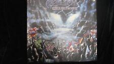 Saxon Rock The Nations-EMI Capital 1986-Heavy Metal-Album-Vinyl-LP