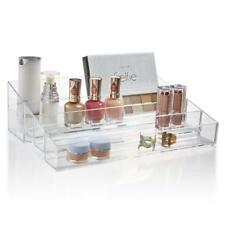 Premium Quality Clear Plastic Vanity Organizer | Audrey Collection