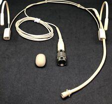 Double earhook Headset Omnidirectional Microphone for Audio Technica ***NEW***