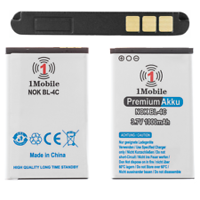 1Mobile Batterie für Nokia 3120 3500 3600 3620 3650 3660 5100 BL-4C Akku 1000mAh
