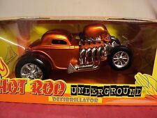 "Hot Rod Underground ""Defibrillator "" 1/18 scale used in box copper exterior HTF"