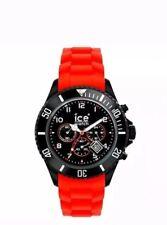 Ice Watch Big ChronoSilicon Black And Red 100% Genuine.