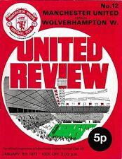 Programma CALCIO > Man Utd V Lupi Gen 1972
