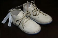 Gymboree toddler boys shoes NWT size 8 high ankle suede boots booties beige $38