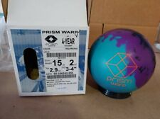 New listing New 15lb Brunswick Prism Warp Bowling Ball 12040