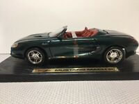 Maisto   'DarkGreen Ford Mustang Mack lll Convertible'  Special Edition 1/18