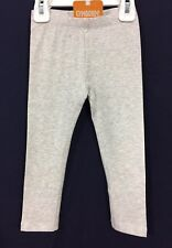 NWT Girl's 4T Gymboree Colorful Heather Gray Pull-On Medium Weight Leggings