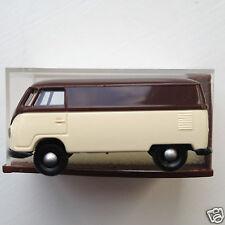 Brekina 3200 1:87 HO scale 1960's Volkswagen Transporter Van - brown/white