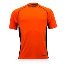 Abbiglimento sportivo da uomo arancione manica corta taglia XXL