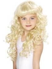 Long Blonde Curly Wig, Girl's Princess Wig