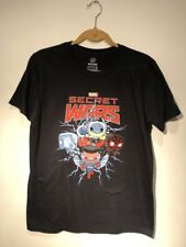 Funko Marvel Collector Corps Exclusive Secret Wars Shirt Small Thor Spider-man