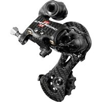 Campagnolo Record Rear Derailleur 2//3x10 medium cage FREE INT SHIPPING NEW