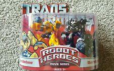Hasbro USA Transformers Robot Heroes - Movie Series Bumblebee & Barricade