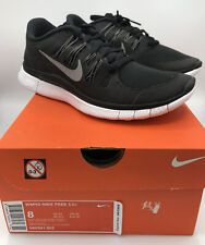 Nike Free 5.0+ Women's Running Shoes, Size 8- Black/Metallic Silver/Dark...
