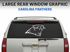 "Carolina Panthers Window Decal Graphic Sticker Car Truck SUV - Large 22"" Wide"