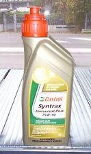 CASTROL SYNTRAX UNIVERSAL PLUS 75W90 API MT-1 / GL-4 / GL-5  1L