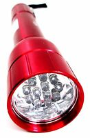 Hilka 12 LED Aluminium Torch Extra Bright General Purpose Torch Red 82009000R