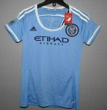 MLS New York Football Club #7 Adidas Soccer Jersey New Womens Sizes