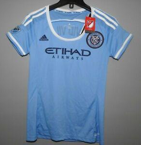 MLS New York Football Club #7 Adidas Soccer Jersey New Womens Sizes