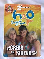 h2o- Sirenas Del Mar -Segunda temporada-Crees en Sirenas?? Serie 5 DVD'S
