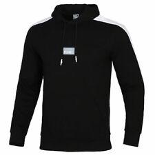 Puma Mens Avenir Graphic Hoodie Taped Logo Jumper Black 598233 01