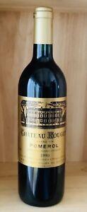 Château Rouget Grand Vin de Pomerol 1990, 0,75l Flasche