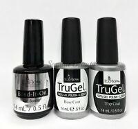 EZFlow TruGel Nail Gel polish-  Bond- It- On , Base, Top Coat 0.5oz/14ml