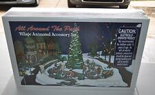 New Sealed Dept 56 All Around the Park Village Animated Accessory Set #5247-7