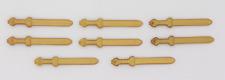 Playmobil Römer Schwert Gladius gold 4271 4273 4276 8 Stück