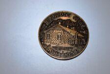 ELLICOTT CITY MARYLAND Bicentennial Medallion 1972 First Railroad Terminus
