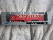 CORGI SUPERHAULERS - Scania Curtainsider James Irlam & Sons Ltd - 59509 Unopened