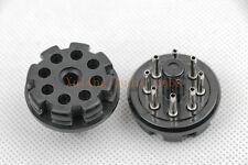2pc bakelite octal 8pin tube base for 6sn7 el34 power plug