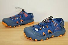 Kappa Taken Kids Boys Sandals Size UK C13 / EU 32 Navy Orange (K6I)