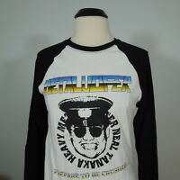METALUCIFER Neal Tanaka White Raglan w/Long Sleeves sz XL (R.I.P. Records) NEW