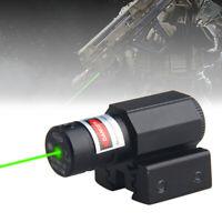 Taktisch Mini Grün Punkt Laser Anblick 11/20mm Weber Bereich Schiene für Gewehr