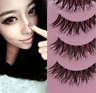 5 Pairs  Long Thick Cross Makeup Beauty False Eyelashes  Lashes Extension