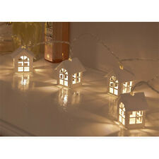Battery Power String Lights With 10LED House Shape Christmas Lights For Outdoor