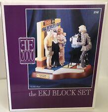 1999 Flambro Emmett Kelly, Jr. The Ekj Block Set Kodak World's 1964 Fair #9748